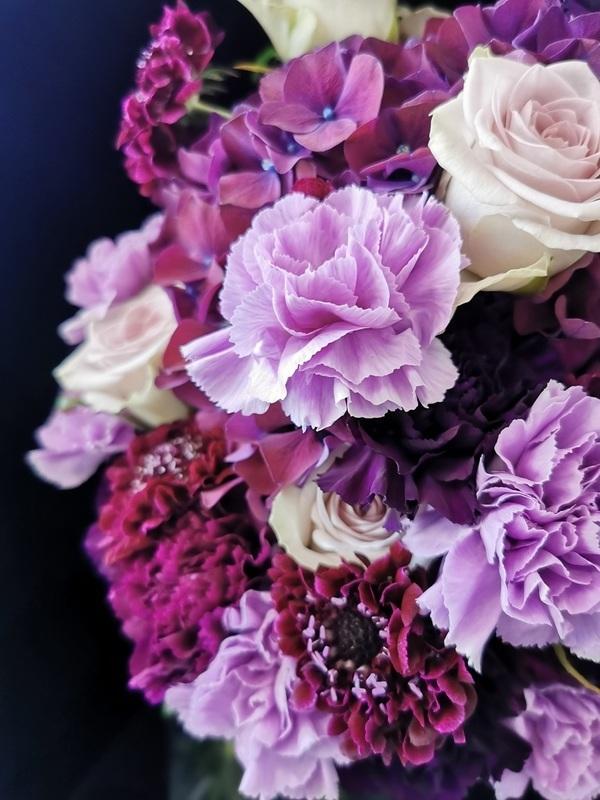 Fleurs de saison (autour du Rose)